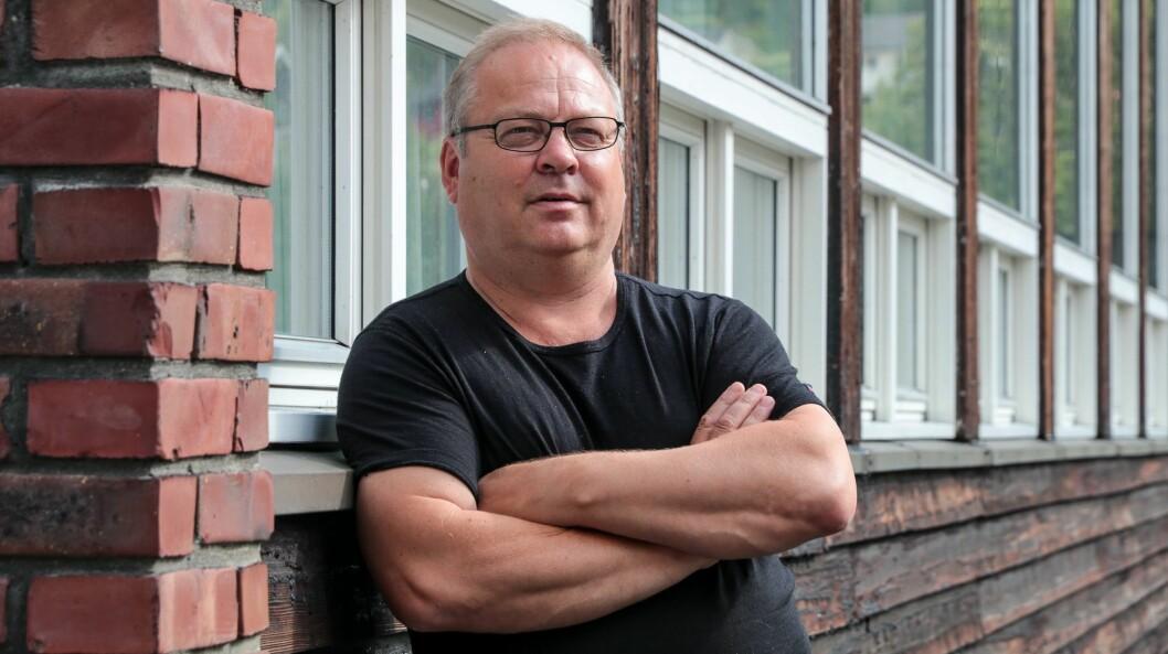 MOGLEGHEITER: Målrocksjef Geir Kjetil Øvstetun held no døra på gløtt, for å kunne utvide publikumstalet på årets festival.