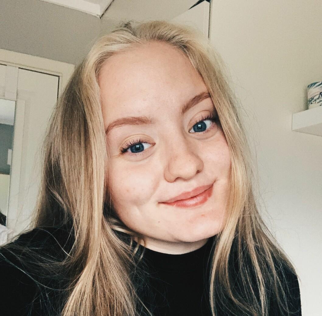FÅR TAK I ARTISTAR: Jenny Holsæter skal vera bookingansvarleg for årets Målrock som går av stabelen i august.