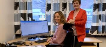 Gjev stafettpinnen vidare: Trine Grøttebø har hatt si første veke hos Årdal Utvikling