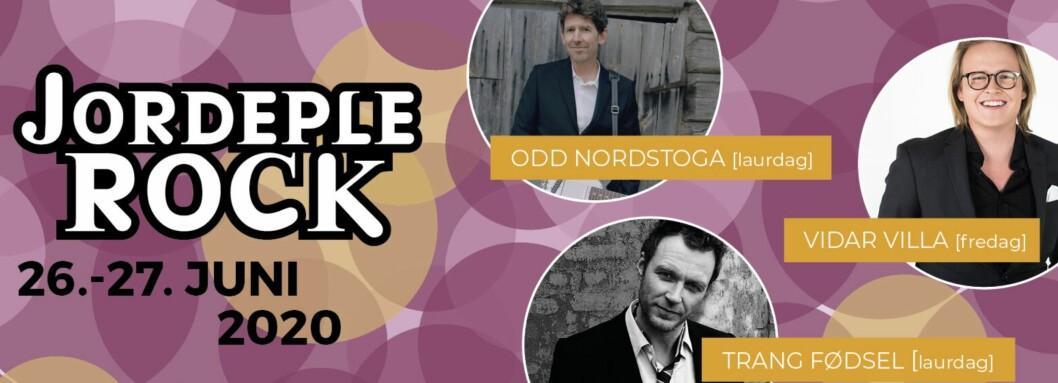 STOLT SPONSOR: Årdalsnett er stolt hovudsponsor av festivalen Jordeplerock.
