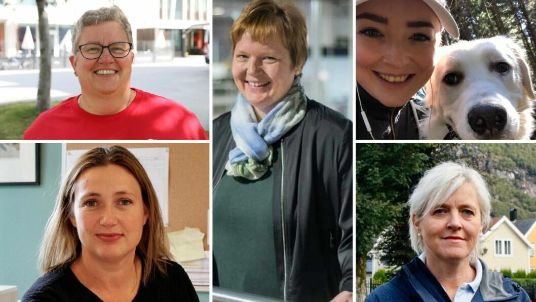RELEVANT: Kvinnedagen er framleis relevant og viktig, meiner desse fem kvinnene.
