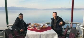 Snorre harguida turistar jorda rundt i tolv år