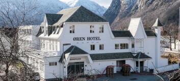 Smitta person var gjest på Øren Hotel