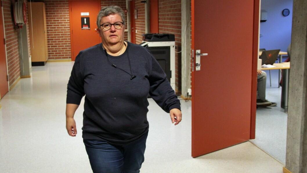UROA: Anne Kauppi på Sogn opplæringskontor seier lærlingane er blant dei som blir råka hardt av koronakrisa.