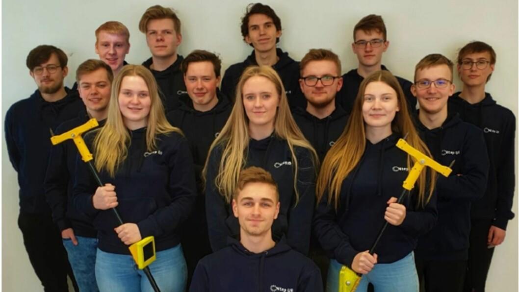 STORT POTENSIALE: Desse instrumenta håper ungdomsbedrifta i Årdal å lansera på marknaden. No har dei vunne gull og sølv i fylkesmeisterskapen for ungdomsbedrifter.