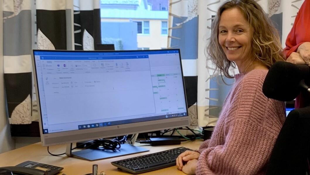 NY ROLLE: Trine Grøttebø er styreleiar i det nystarta selskapet Årdal Adventure.
