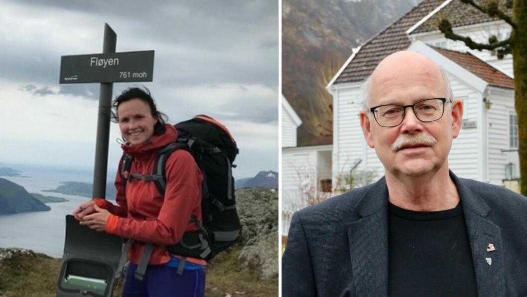 SJØLVSTYRE: Ingunn Kjelstad og Einar Rysjedal meiner kommunane må kunne leggje ned veto mot vindkraftutbygging.