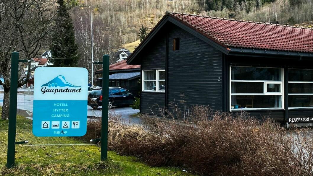 GAUPNETUNET: Hotellet i Gaupne utvidar for å auka kapasiteten.