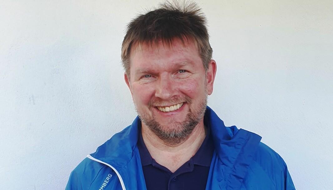 GRUPPELEIAR: Ivar Eide i Gulen Høgre.