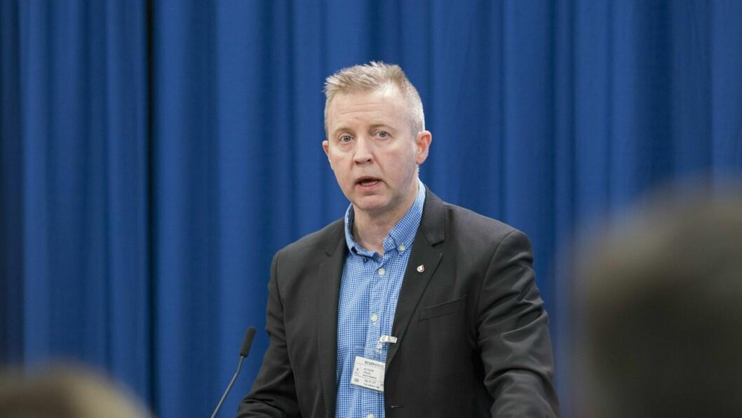KREV RASK RESPONS: Leiar Frode Alfheim i Industri Energi meiner styresmaktene må på bana for å redda norsk eksportindustri.