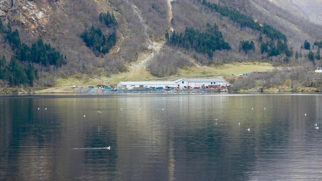STYRE: Osland settefisk AS har gjort endringar i styret den siste tida. Her ser ein settefiskanlegget på Sørebø.