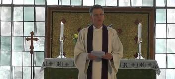 I år går gudstenestene på nett i Høyanger