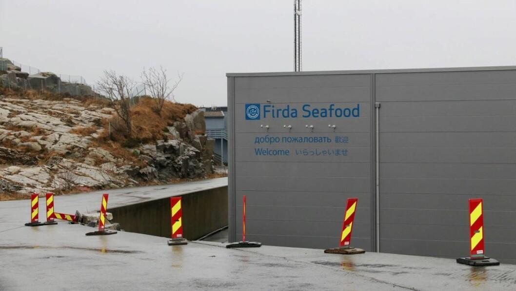 NEI: Firda Sjøfarmer AS får ikkje løyve til å utvide ein av lokalitetene sine.