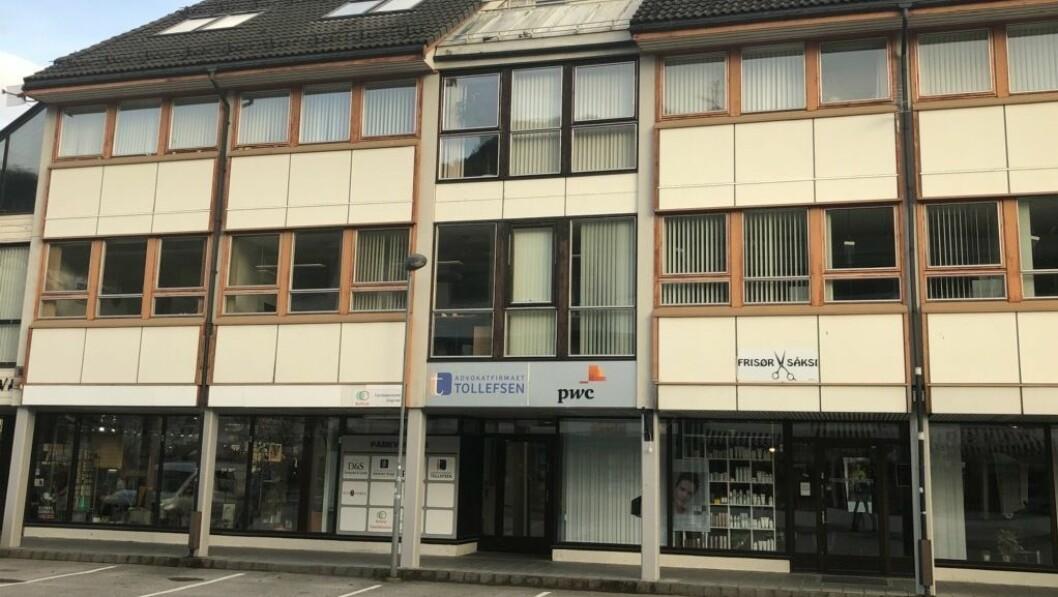 FAMILIEKONTORET: Familiekontoret ligg i Sogndalsfjøra.