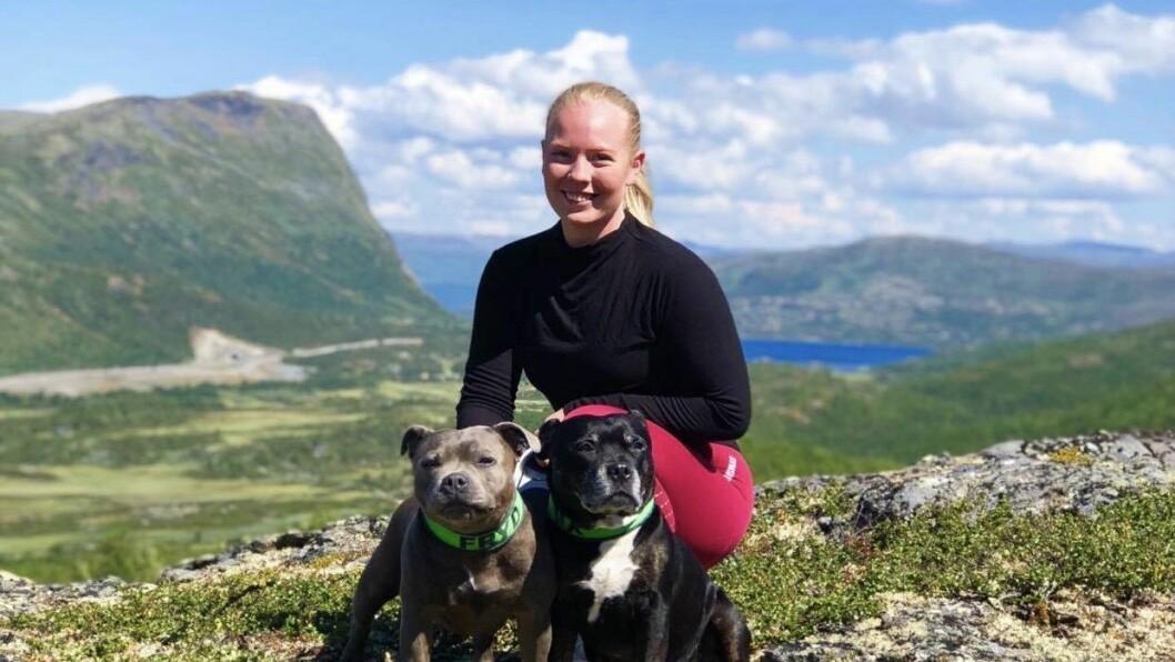 GLAD I NATUR OG FJELL: Ingeborg er glad ho er vaksen opp på Vestlandet