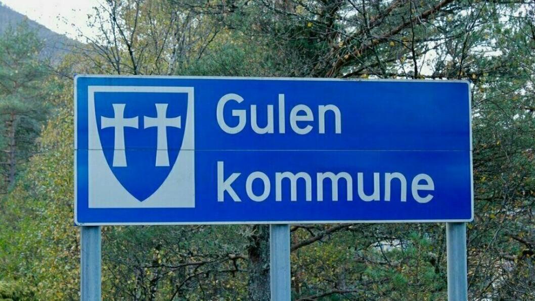 FØRSTE: Dette er det første smittetilfellet av koronaviruset som er knytt til Gulen kommune.