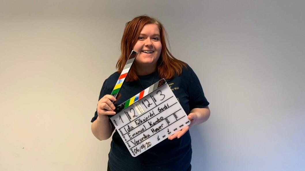 STUDENT: Ida Falkegjerdet Svåi studerer Film og TV ved Westerdals i Oslo.