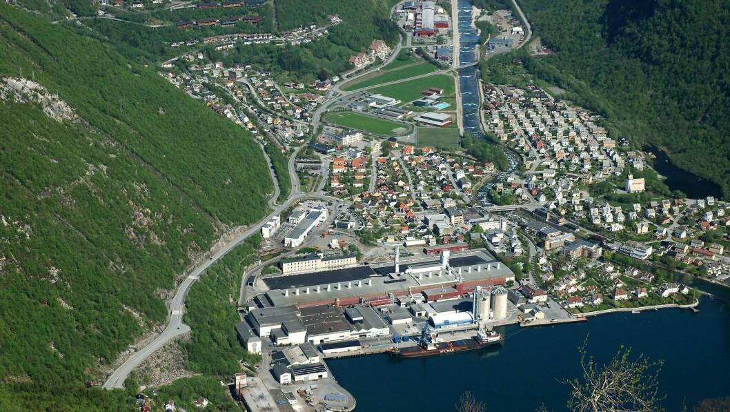 ÉIN: Éin bustad har blitt selt i Høyanger tettstad den siste tida.