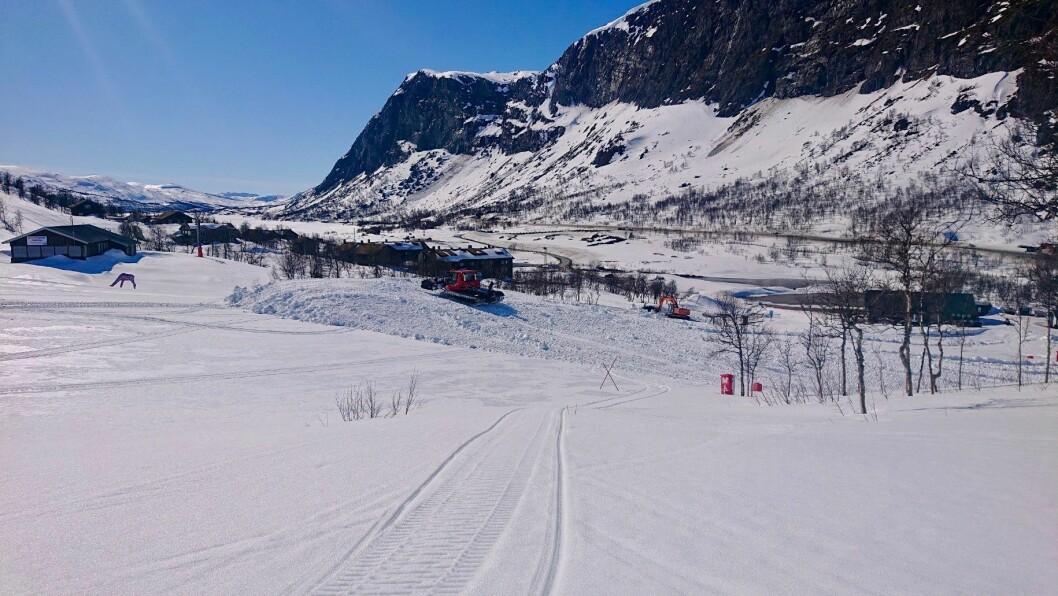 STENGT: Tyin/Filefjell skisenter har ikkje fått lov av kommunen til å opna att denne sesongen.