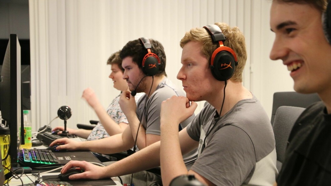 VESTLAN: Årdal e-sport deltek denne helga i to turneringar.