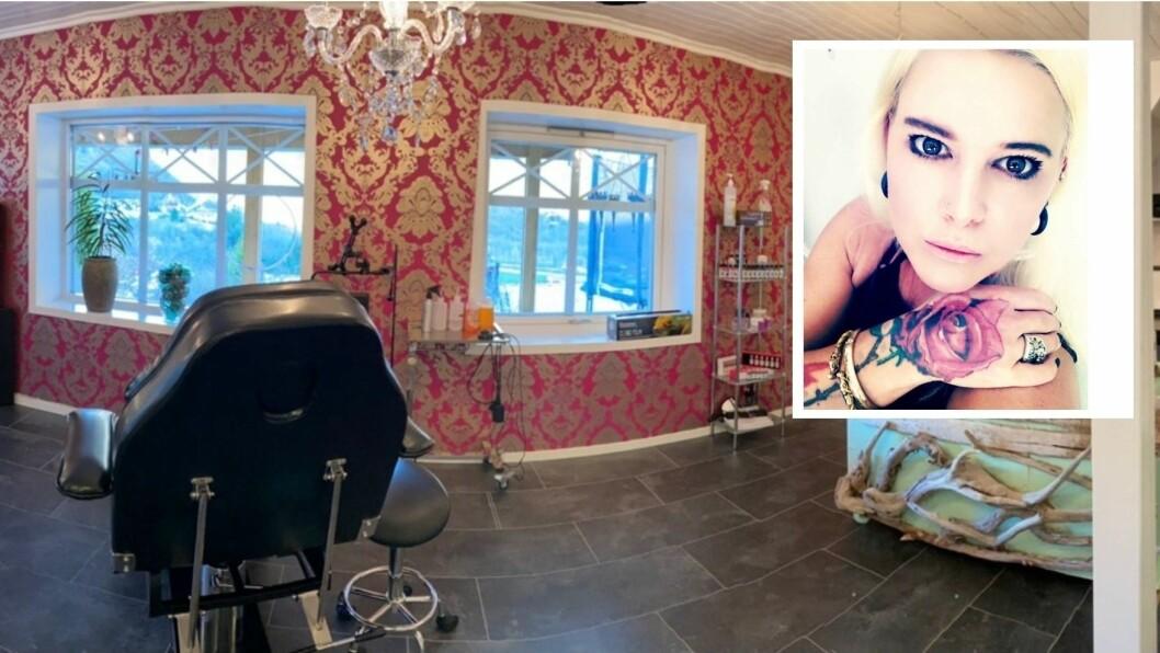 Agnete Frivik har eit tatoveringsstudio i kjellaren i eit bustadhus i Høyanger. Det har ikkje vore i bruk før, men no skal ho opne opp for kundar.