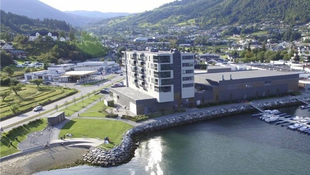 EIGEDOM: Fleire selskap har registrert seg med føremål om sal av eigedom. På biletet ser me Sogndal kommune.