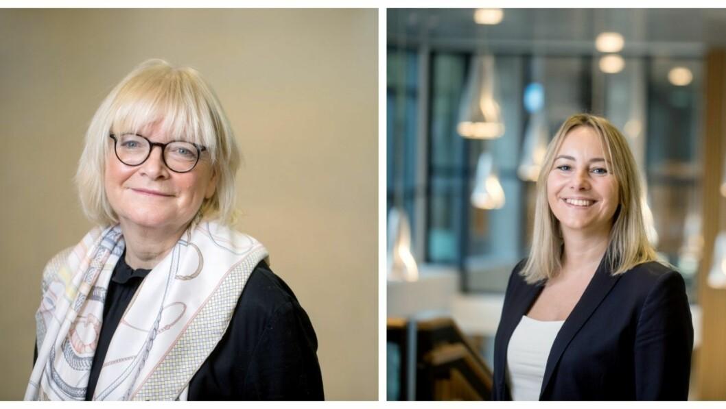HVL: Berit Rokne og Gro Anita Fonnes Flaten.