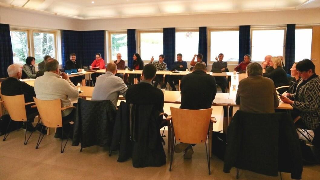ENDRING: Kommunestyret i Gulen ber no administrasjonen sjå på ei løysing der Skipavika næringspark kan kople seg på Ånneland vassverk.