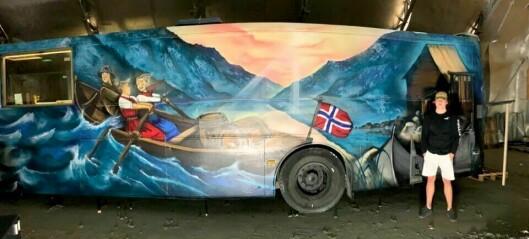 Herman Hovland om russetida og Sogndal sin første russebuss