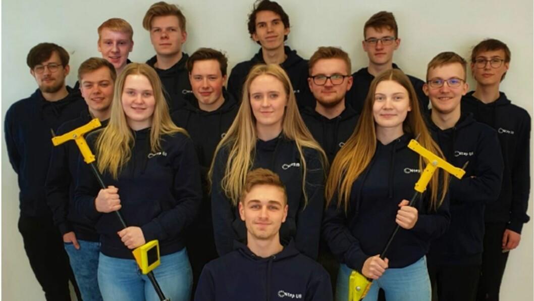 BRONSE: Desse instrumenta håper ungdomsbedrifta i Årdal å lansera på marknaden.