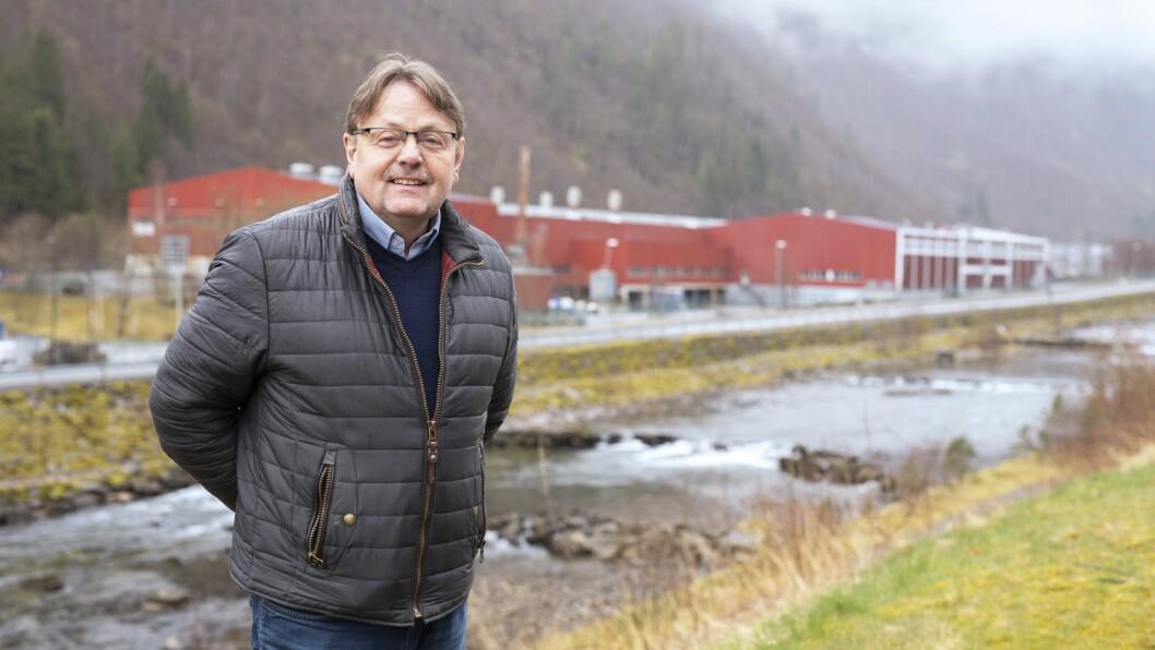LYSPUNKT: Moglegheitene for utvikling av Høyanger næringspark er eitt av lyspunkta næringssjef Terje Søreide ser i Høyanger kommune framover trass utfordringar i samband med koronakrisa.