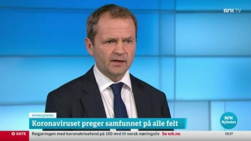 SOGNING: Knut Magnus Berge har sterk tilknytting til Ytre Sogn, men trur ikkje han ville flytta tilbake med det første.