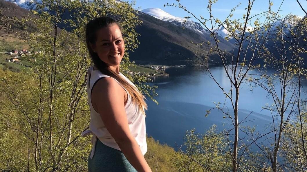 AURLAND: Ronja Martine bur og trivest i Aurland.