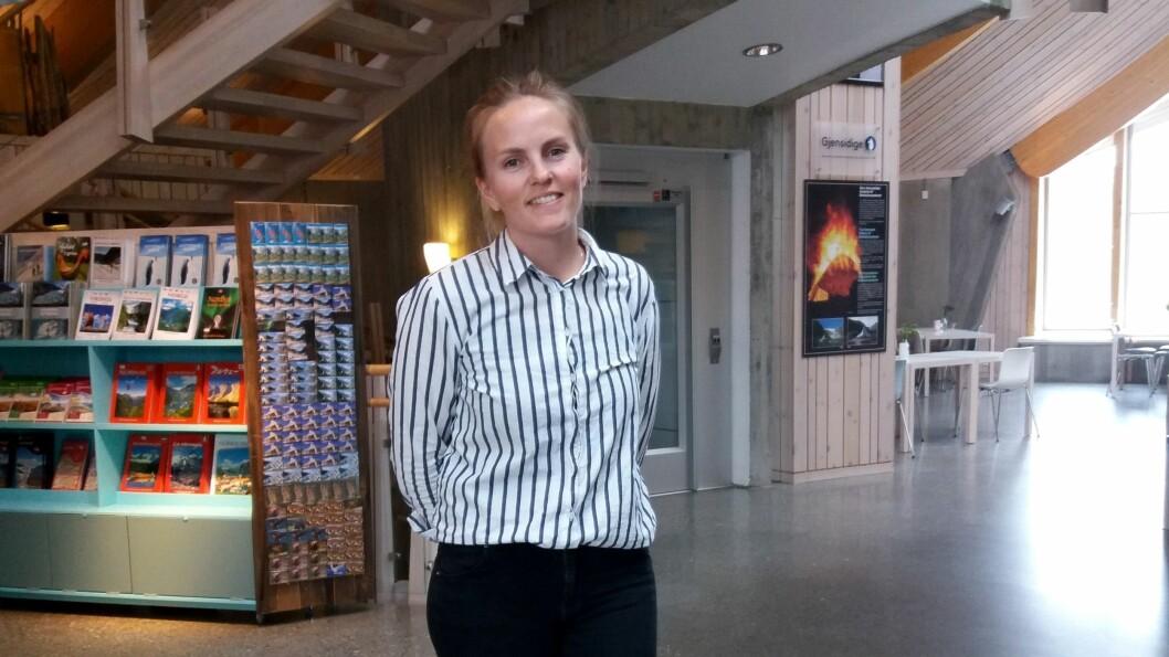 DAGLEG LEIAR: Åslaug Hansegård er ny dagleg leiar på Breheimssenteret.