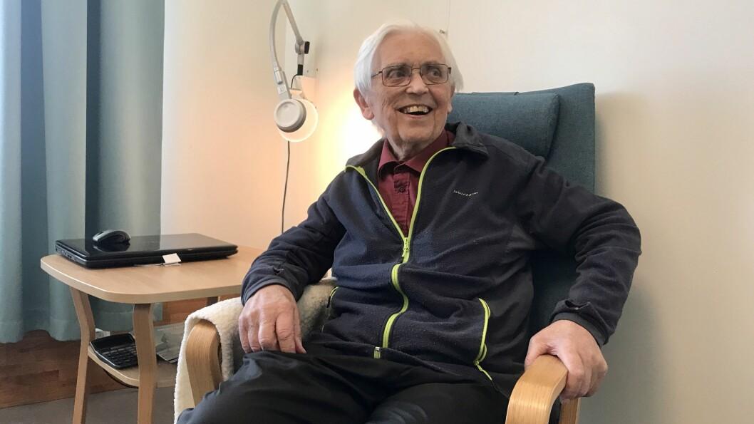 LENGE SIDAN SIST: Gunnleiv Nornes har bala mykje med sjukdom, og no sist ut var det ei knekt hofte som sette han ut av spel. Det ville ingen ha gjetta som ikkje visste om det.