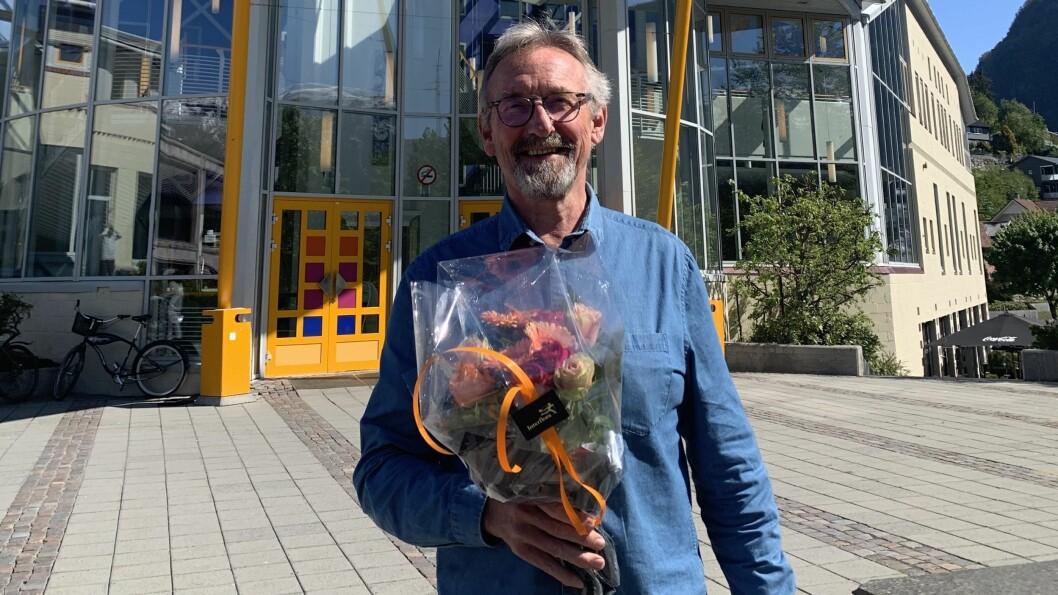 PENSJONIST: Etter førti år i kulturen går Dagfinn Rude Johannessen av med pensjon.