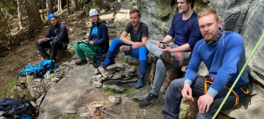 Arrangerte klatrekurs for å auka rekrutteringa i Årdal