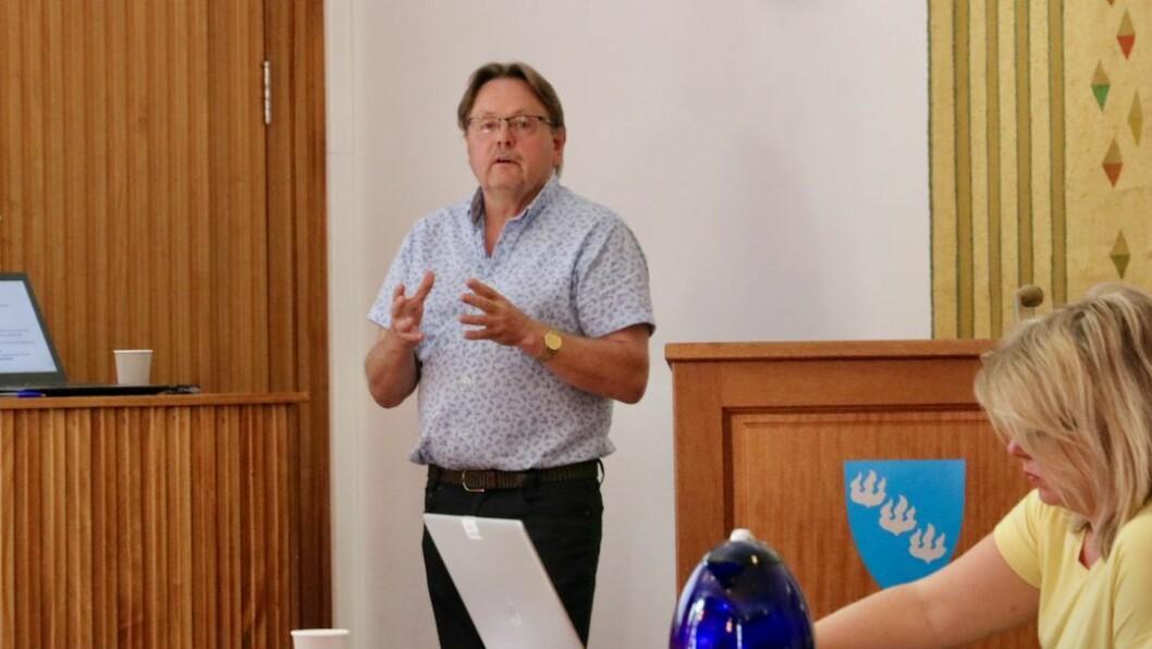 PROSESS: Næringssjef og dagleg leiar i Høyanger næringsutvikling AS, Terje Søreide, ønskjer ei utgreiing kring bubilparkering i Høyanger tettstad.