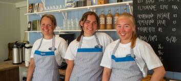 Opna ny kafé i gamalt butikklokale