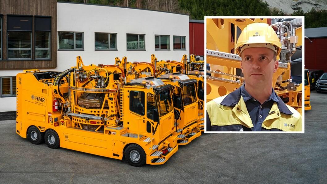 NY DAGLEG LEIAR: Endre Røyrvik kjem frå stillinga som produktleiar i HMR Hydeq.