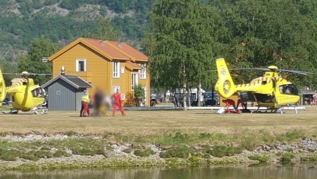 ULYKKE: Politiet frigjer namn på den unge mannen som omkom i badeulykka i Lærdal.