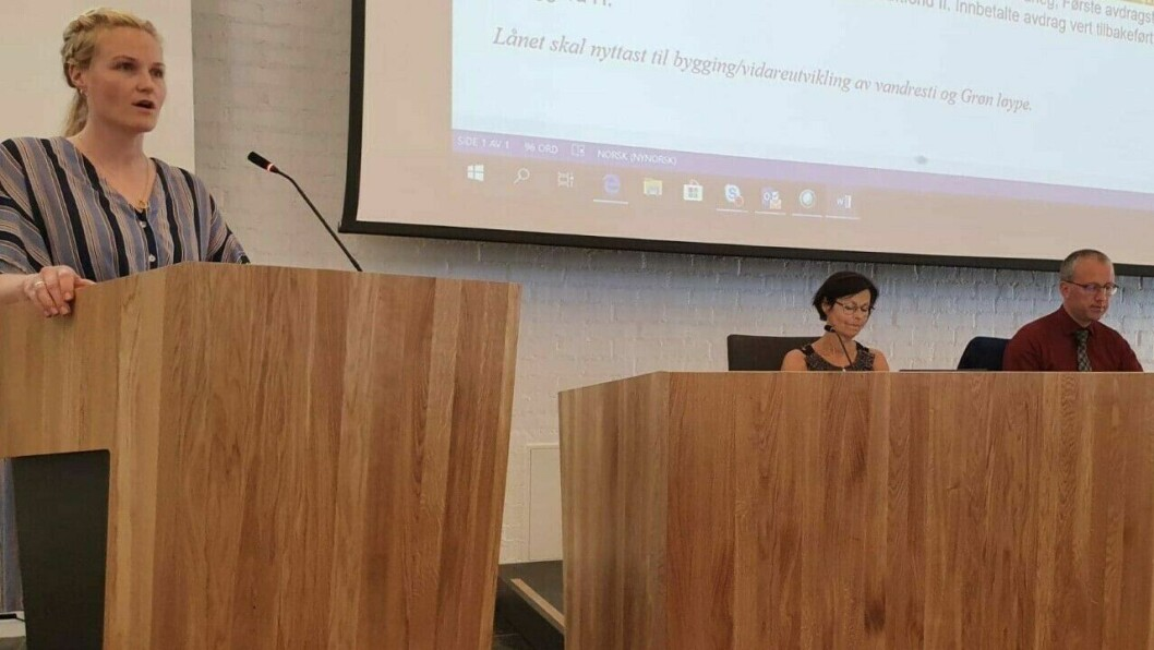 KULTURHUS: Kristin Rundsveen Bøtun (Sp) leiar i komité for samfunnsutvikling.