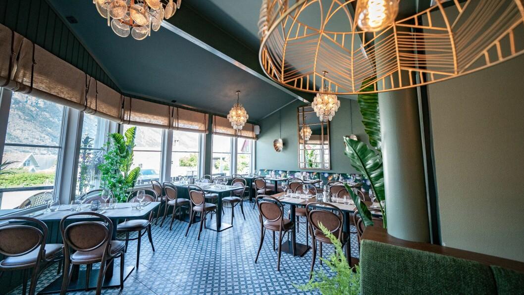 NYOPPUSSA: Matkonseptet i restaurant i uteservering byr på reine smakar med inspirasjon frå inn- og utland, og vil vere basert på norske og lokale råvarer i sesong.