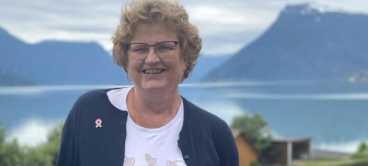 Liv Frøydis frå Norevik har uhelberedeleg kreft: – Eg tek dag for dag
