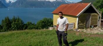Yahya kom til Norge i 2014 – no er han bonde på jakt etter ein gard til salgs