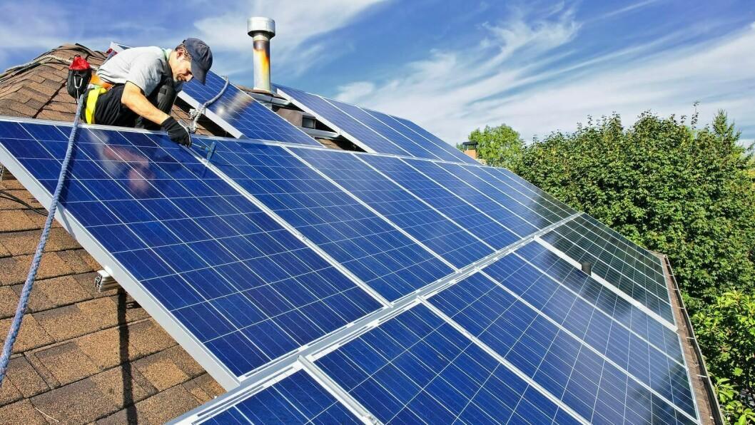 SOLISI: Den nyoppstarta bedrifta i Årdal skal levera installasjon av solceller.