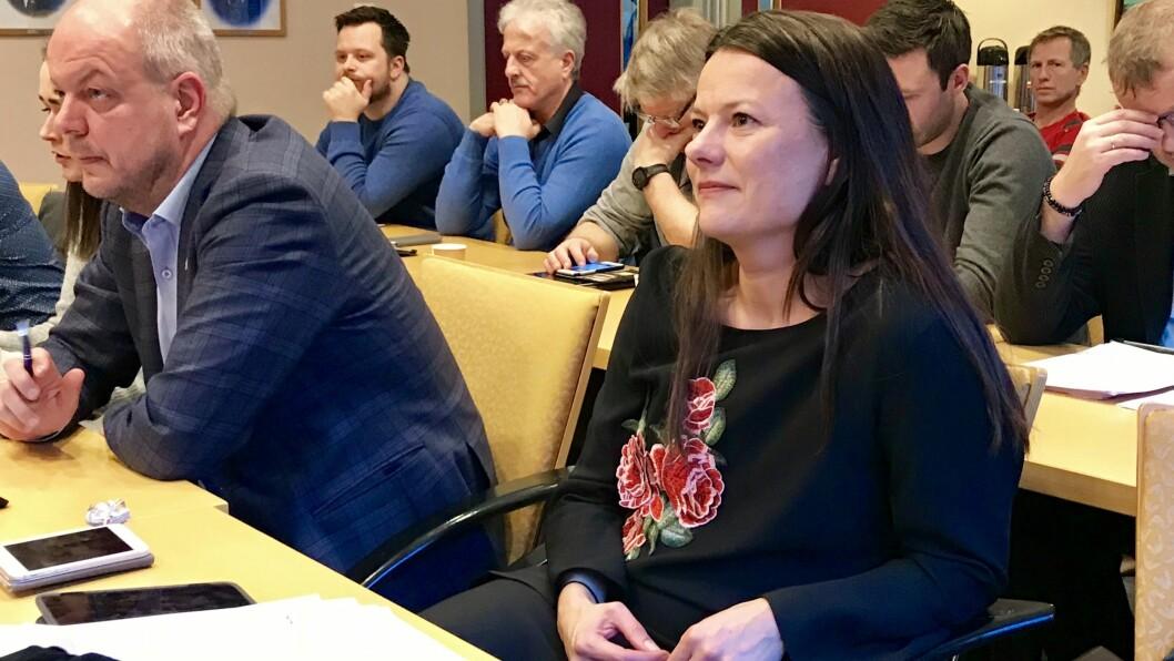 SISTE HINDRING AV VEGEN: Fiskestien ved Holsbruvatnet trengde dispensasjon for å bli realisert. Helene-Marie Hollevik Brandsdal (Ap) og resten av formannskapet i Årdal stilte seg ikkje på bakbeina.