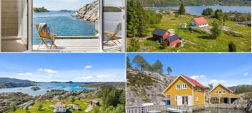 Denne eigedommen i Skjerjehamn har ein prislapp på 9 millionar
