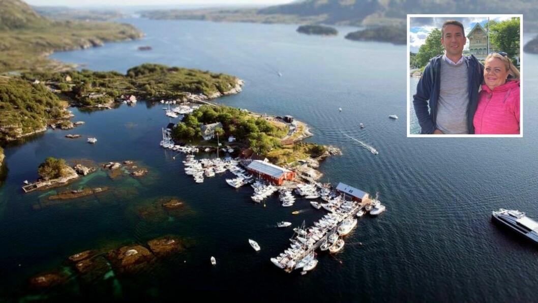 VERTSKAPET:Dagleg leiar Nihat Kircaog Nina Lovise Kirca er vertskap på Skjerjehamn.