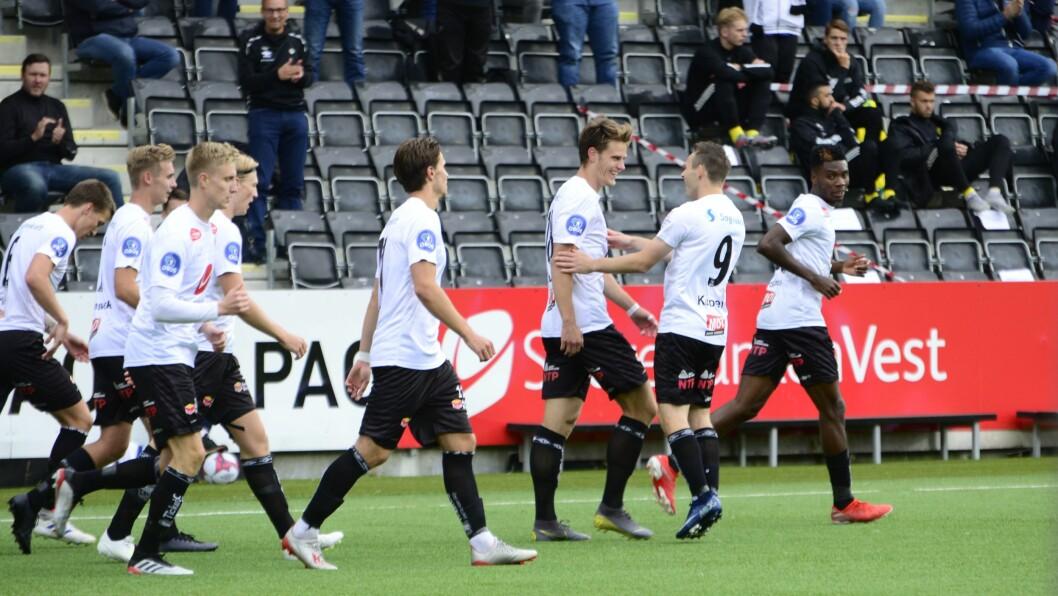 UAVGJORT: Sogndal spelte uavgjort borte mot Stjørdals-Blink.